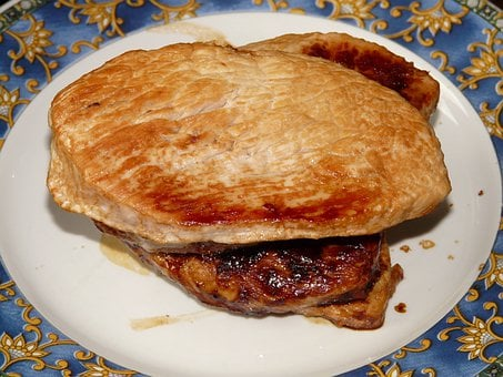 Steak, Turkey Steak, Meat, Food, Meat Plate, Barbecue