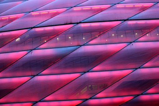 Football Stadium, Stadium, Arena, Allianz Arena