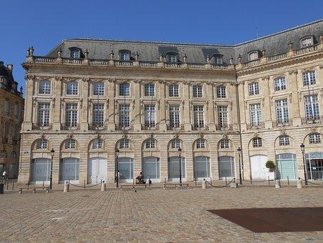 Bordeaux, Place De La Bourse, France