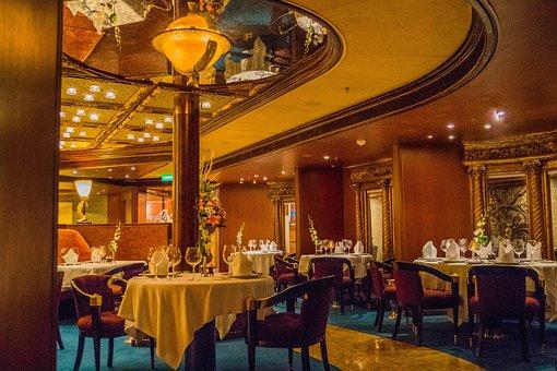 Dining Room, Elegant, Restaurant, Furniture, Dining