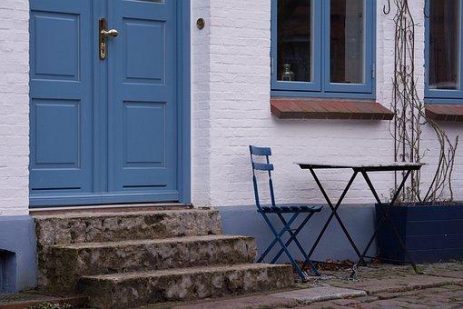 Front Door, Input, Door, Home, House Entrance, Building