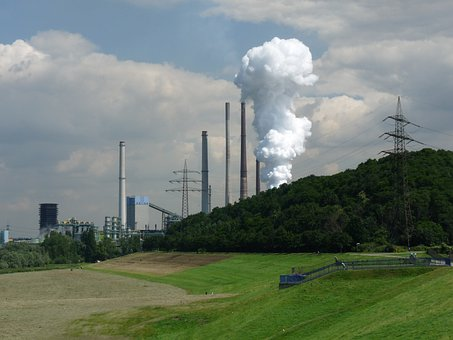Industry, Factory, Metallurgical Plant, Ruhr Area
