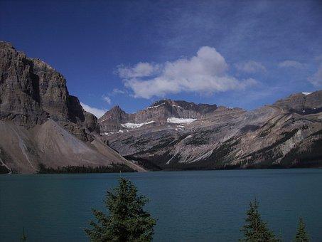 Bow Lake, Jasper, Banff, National Park