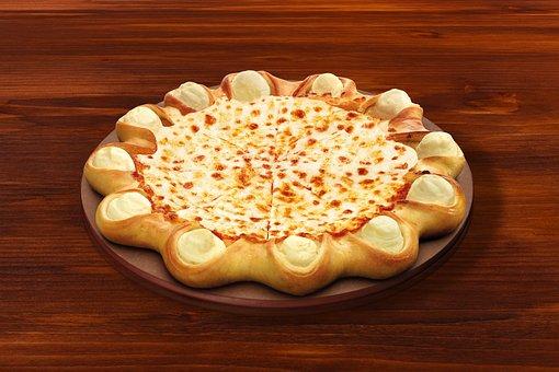 Pizza, Pizza Hut, Cheese, Mozzarella, Fast, Junk