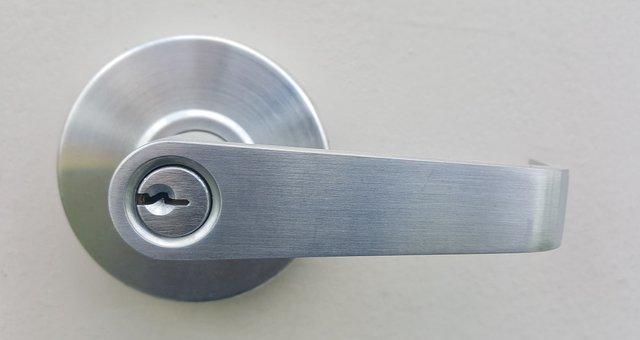 Handle, Door Handle, Doorknob, Lock, Entrance, Key
