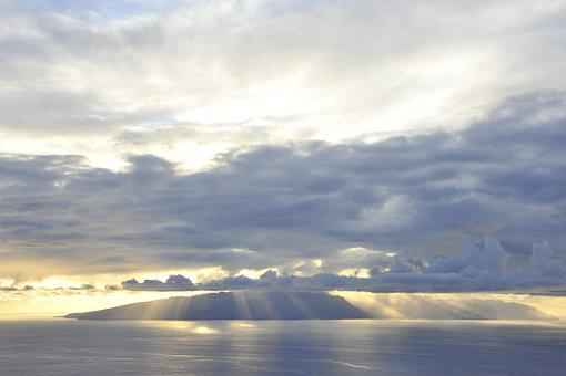 La Reptiles, Sunset, Landscape, Mood, Sea, Island