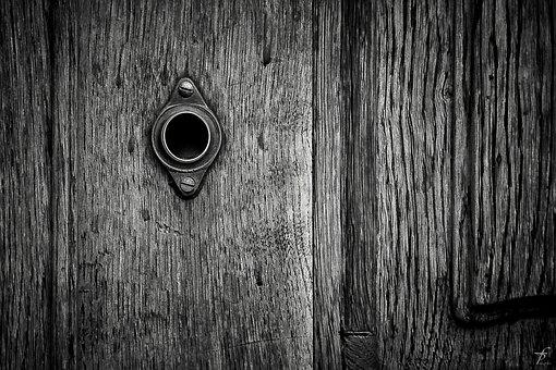 Door, Keyhole, Design, Lock, Key, Doorway, Enter