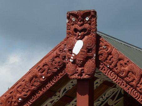 Maori, Native American, Art, Wood, New Zealand