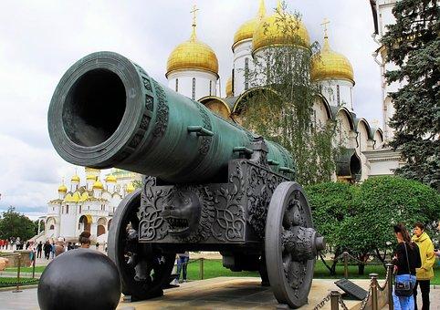 Russia, Moscow, Kremlin, Canon, Tatars, Monster