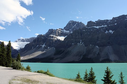 Bow Lake, Jasper, Banff, National Park
