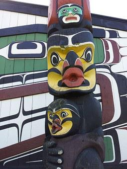Northwest Coast, Native American, Art, Totem Pole
