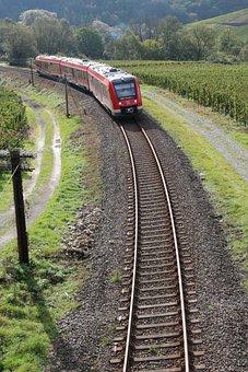 Regional-express, Train, Track, Deutsche Bahn