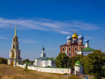 The Kremlin, Ryazan, City ​​of Ryazan, Ryazan Kremlin