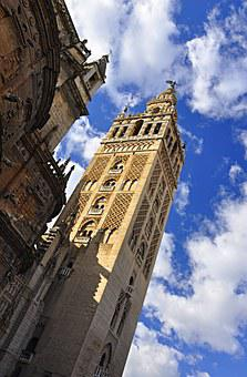 Seville, Cathedral, Spain, Monuments, Architecture
