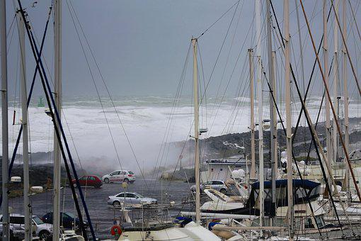 Wave, Sea, Storm, Movement, Scum, Weather, Tsunami