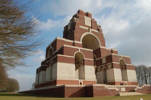 Thiepval, Memorial, World War 1, Battlefield