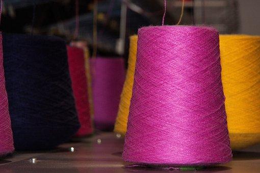 Coil, Yarns, Flat Knitting Machine, Knit
