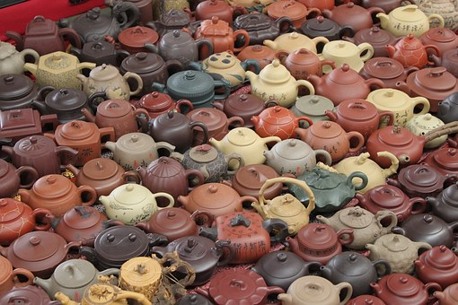 China, Teapots, Craft, Traditional, Chinese, Asian