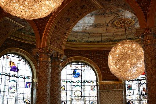 Victoria And Albert Museum, Arcos, Balls, Decoration