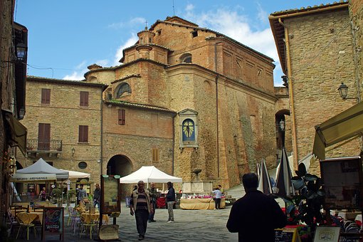 Panicale, Perugia, Borgo, Middle Ages, Medieval Village