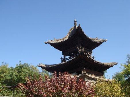 Pagoda, Chinese, Building, History, China, Traditional
