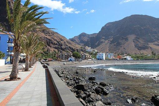 La Reptiles, Playa, Canary Islands, Beach, Coast