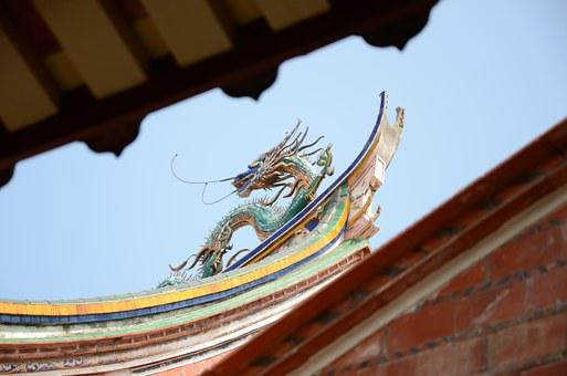 Cheng Tian Temple, Cornices, Ancient Architecture