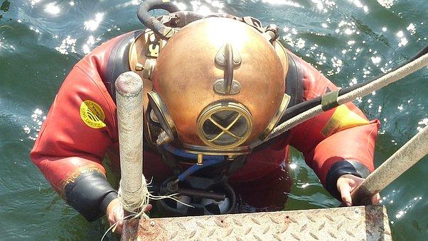 Divers Helmet, Helmet Diver, Historically, Baltic Sea