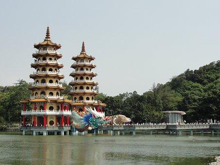 Left Camp, Lotus Lake, Dragon Tiger Pagodas