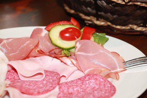 Sausage, Sausage Dish, Wurstplatte, Eat, Delicious