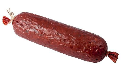 Cook Salami, Sausage, Beer Sausage, Salami, Food, Eat