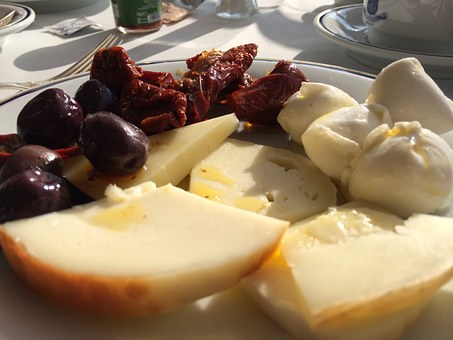 Cheese, Italy, Sun Dried Tomatoes, Dairy, Food, Snack