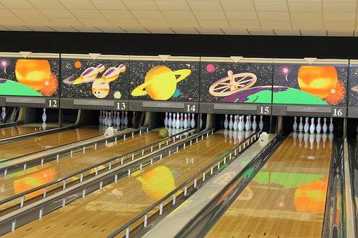 Games, Bowling, Keel, Ball, Post
