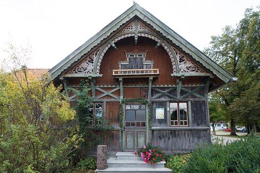 Garden Shed, Bavaria, Upper Bavaria, Semicircular Arch