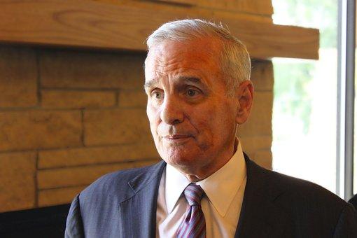 Governor, Mark Dayton, Man, Person, Politician