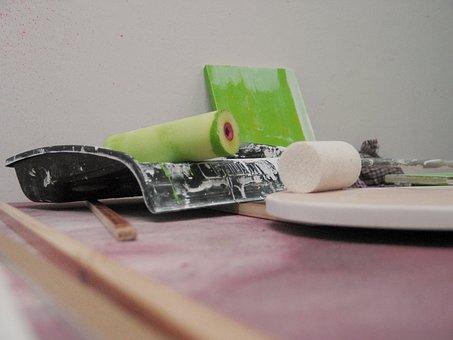 Ink Roller, Painter, Delete, Paint, House Painter