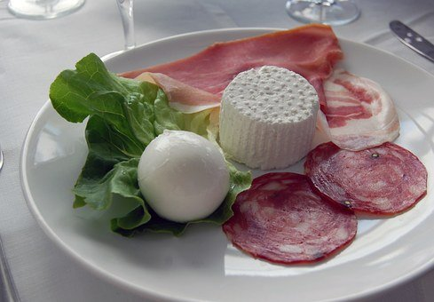 Salami, Dish, Italian, Food, Table, Foods, Typical Dish