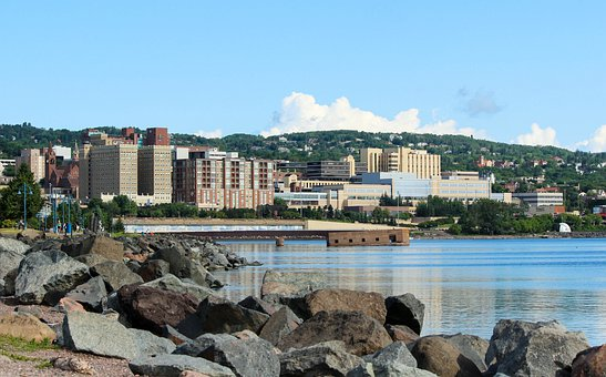 Duluth Minnesota, Waterfront, Lake Superior