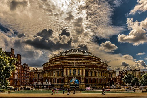 Royal Albert Hall, London, Architecture, Albert