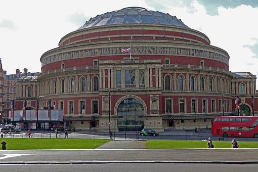 London, Royal Albert Hall, England, Hall, Sightseeing