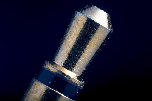 Earphone Connector, 2, 5 Mm Plug, Macro