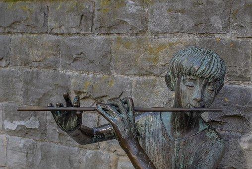 Flute Player, Flute, Musician, Musical Instrument