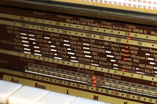 Radio, Retro, World Receiver, Keys, Nostalgia