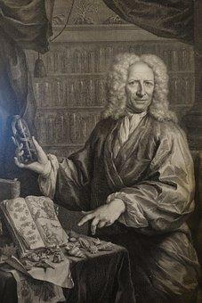 Albert Seba, Museum, Painting, Canvas, Oil, Person, Man