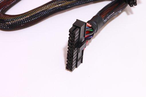 Atx, Black, Cables, Computers, Connectors, Power, Psu