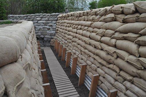 Walking Grave, First World War, Replica, Ieper