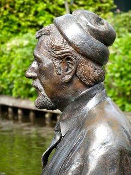 Albert Mol, Statue, Sculpture, Figure, Bronze, Metal