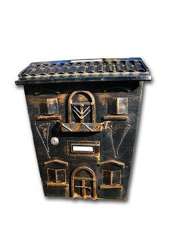 Mailbox, Metal, Post, Blacksmithing, Letter Boxes, Send
