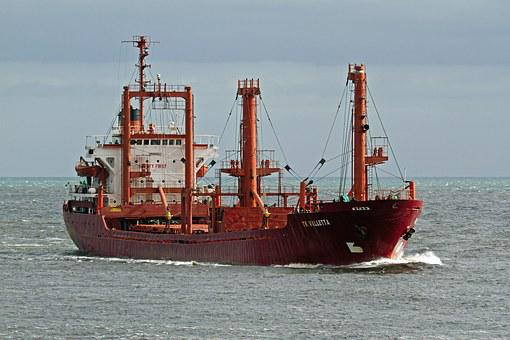 Shipping, Maltese, North Sea, Tk Valletta