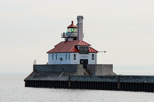 Lighthouse, South Breakwater, Duluth Minnesota